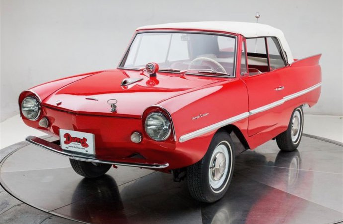 Amphicar also provides travel in the snow