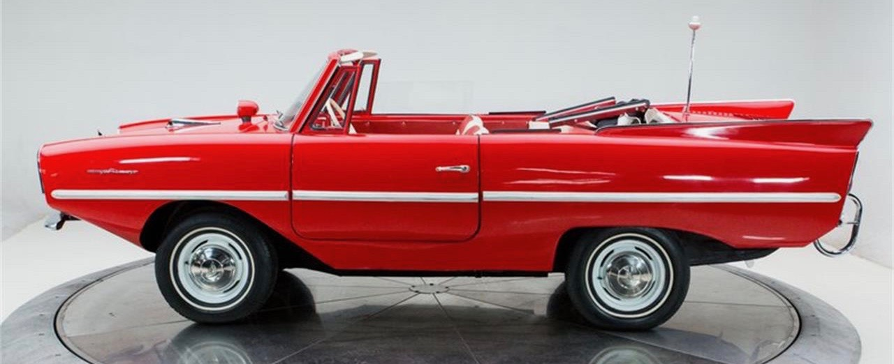 Amphicar, Amphicar also provides travel in the snow, ClassicCars.com Journal