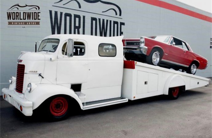 Truck to show, or to haul buddies home from the show