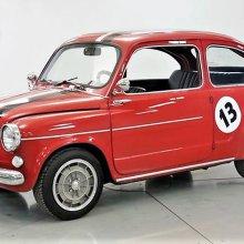 Tiny terror: 1958 Fiat 600 turned into a custom hot rod
