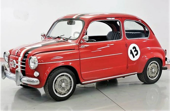 Tiny terror: 1958 Fiat 600 turned into a custom hot rod