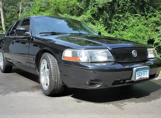 Mercury Marauder performance sedan with full-size gusto