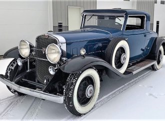 Smooth, powerful 1930 Cadillac V16 rumble-seat coupe