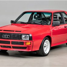 Rally star 1986 Audi Sport Quattro short-wheelbase coupe
