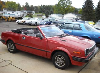 1981 Honda Prelude convertible is rare, indeed