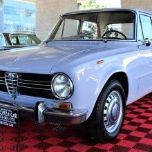 Small displacement, major style: 1969 Alfa Romeo Giulia 1300 ti
