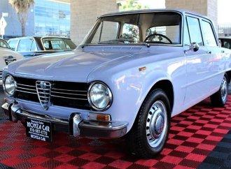Small displacement, major style: 1969 Alfa Romeo Giulia 1300 ti