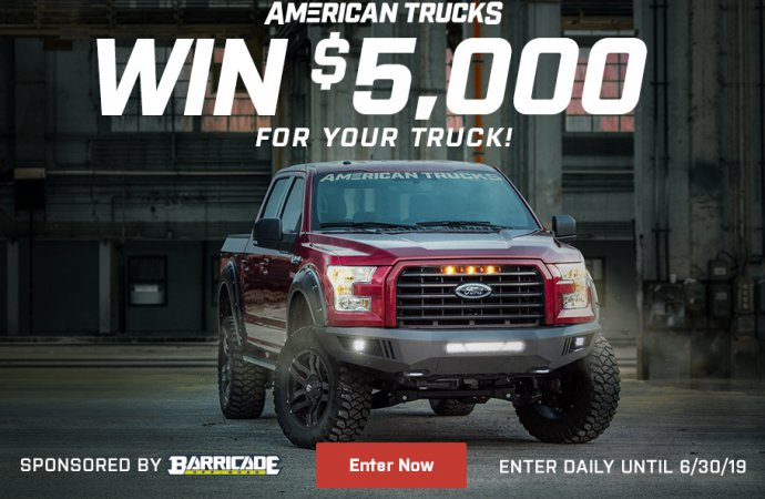 Giveaway contest offers $5,000 in truck upgrades