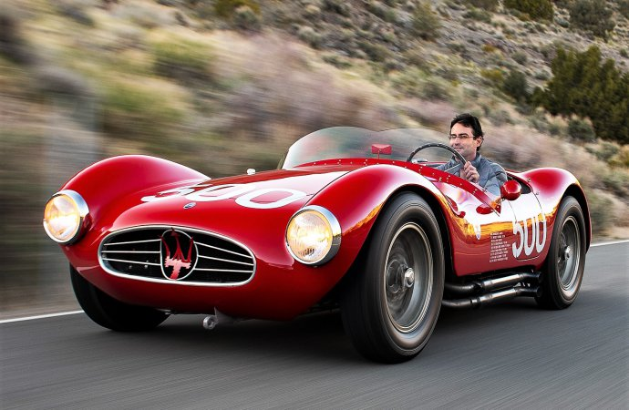 Rare 1954 Maserati racer added to RM Sotheby's Monterey docket