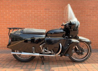 One-owner Vincent Black Knight going to auction