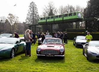 'Simply Aston Martin' show draws record number of cars