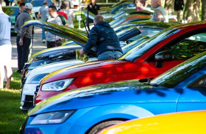 Nearly 500 Audis turn out for show at Beaulieu