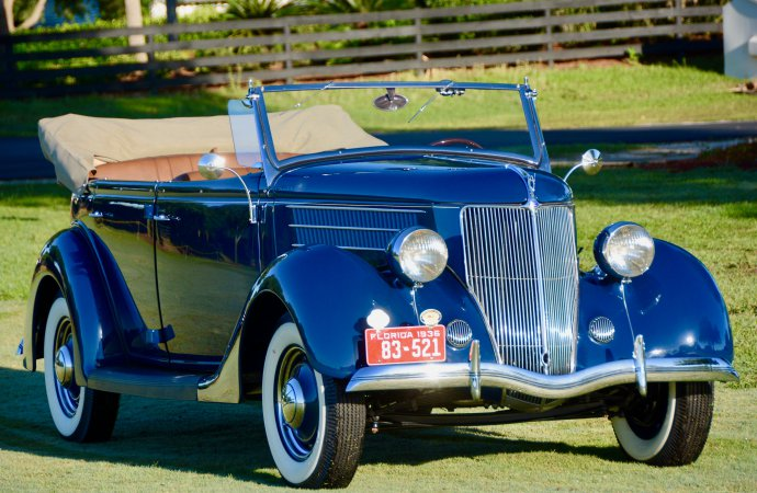 Driven: 1936 Ford V8 Deluxe Phaeton
