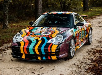 Speedy Graphito Porsche headed to auction