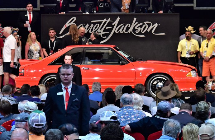 Barrett-Jackson hits $31.2 million for Palm Beach Auction