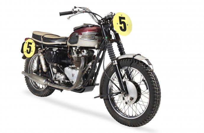 Records fall at Bonhams' bike sale