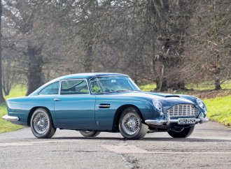 Upgraded Aston Martin DB5 tops Bonhams auction at Goodwood