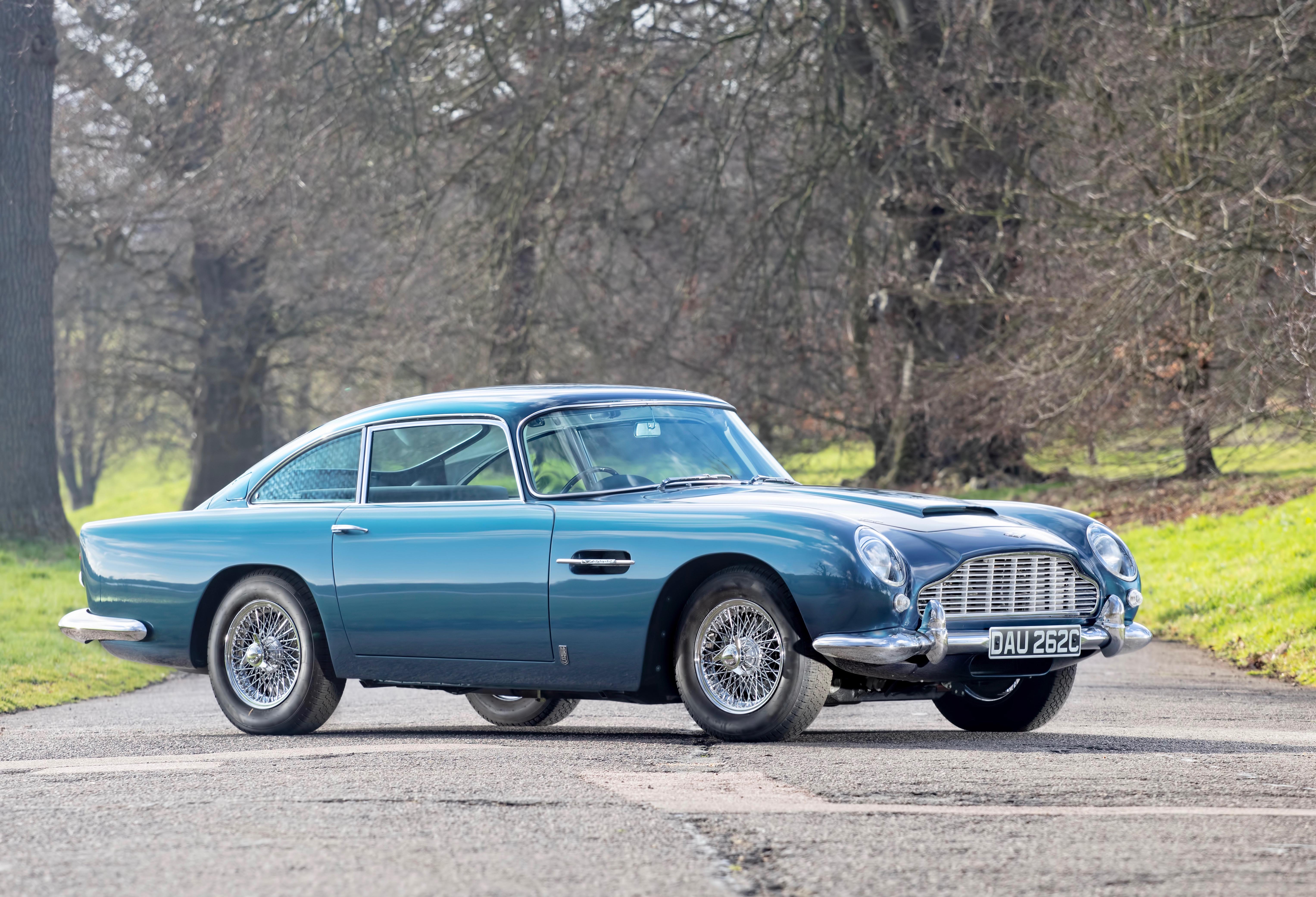 Upgraded Aston Martin Db5 Tops Bonhams Auction At Goodwood