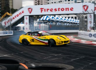 Intercontinental drift: Long Beach Motegi Challenge