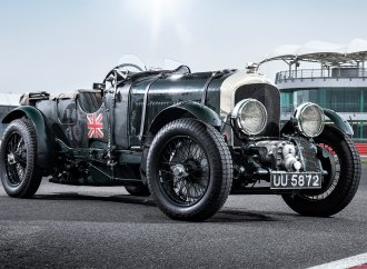 Special-edition Bentley includes piece of 1929 race car it honors