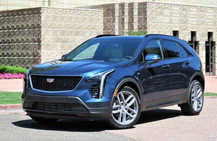 Compact Cadillac XT4 crossover hits luxury-market sweet spot