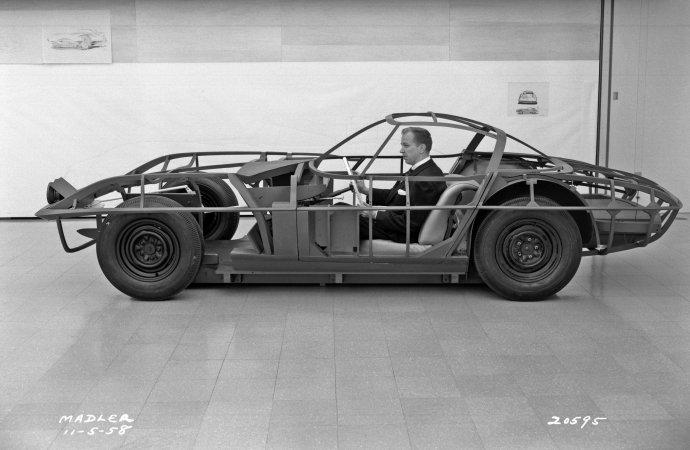 Mid-engine Corvette, it is not a new idea