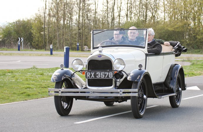 10 young drivers get classic cars on 1-year loans