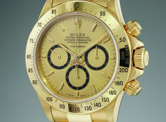 Watch purchased by Ayron Senna going to auction