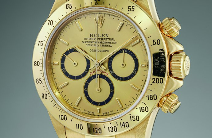Watch purchased by Ayrton Senna going to auction
