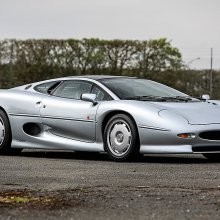 Pair of exotic Jaguar XJ220s to be offered at Silverstone auction