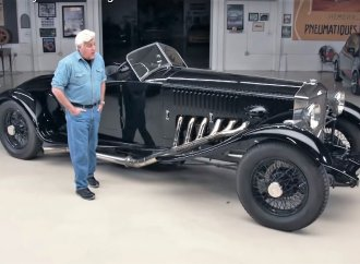 1934 Rolls-Royce Merlin touches down in Jay Leno's Garage