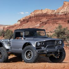 Jeep does resto-mod of 1968 M-715 for Moab Easter Safari