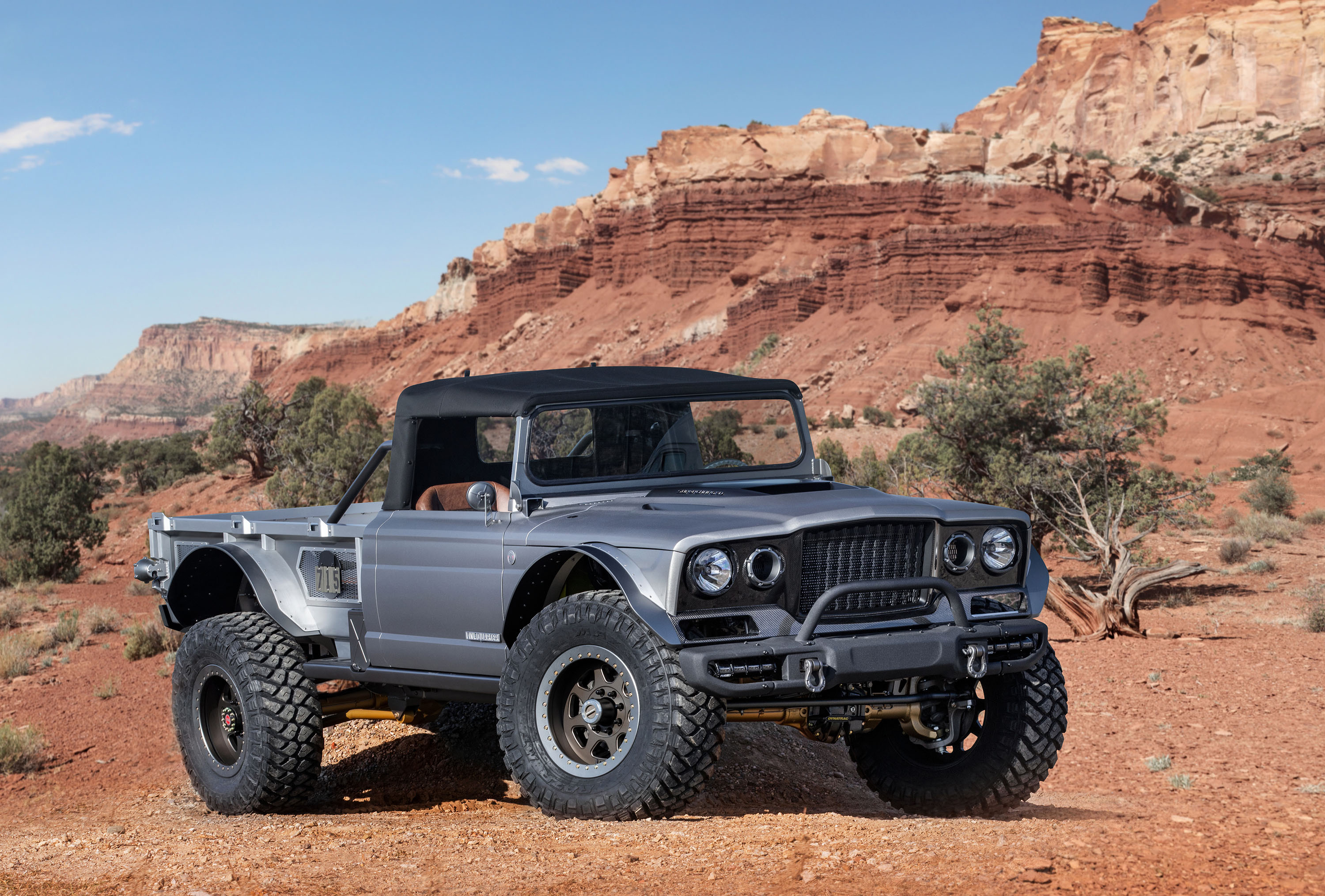 Jeep And Mopar Do Resto Mod Of 1968 M 715 For Moab Easter Safari