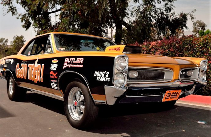 Famed Pontiac adman Jim Wangers' cars offered by Mecum