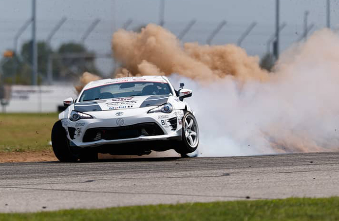 From rally racing to the track, drifting took a while to fully come about. | Formula Drift photo/Larry Chen