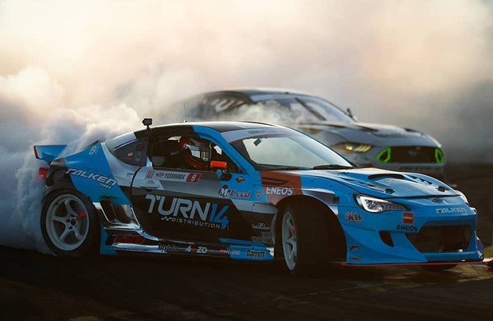 Drifting is a rising sport in the United States. So what in the heck is it? | Formula Drift photo/Larry Chen