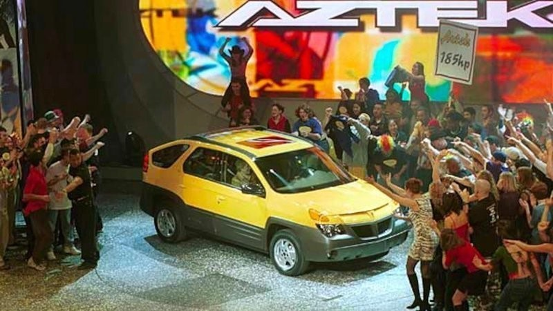 Is bringing back the Aztek really a laughing matter? | Hagerty photo