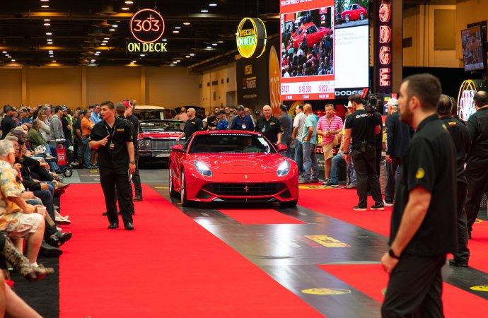 Mecum hits $20 million at Houston auction