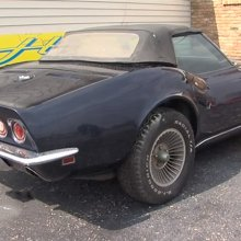 Man gets back Chevrolet Corvette stolen 44 years ago