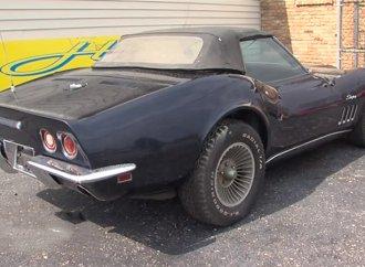 Man gets back Chevrolet Corvette stolen 44 years ago