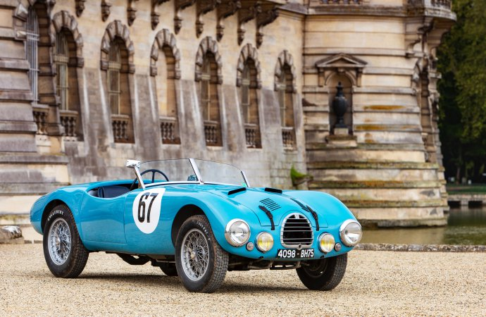 Gordini tops Bonhams' Chantilly auction