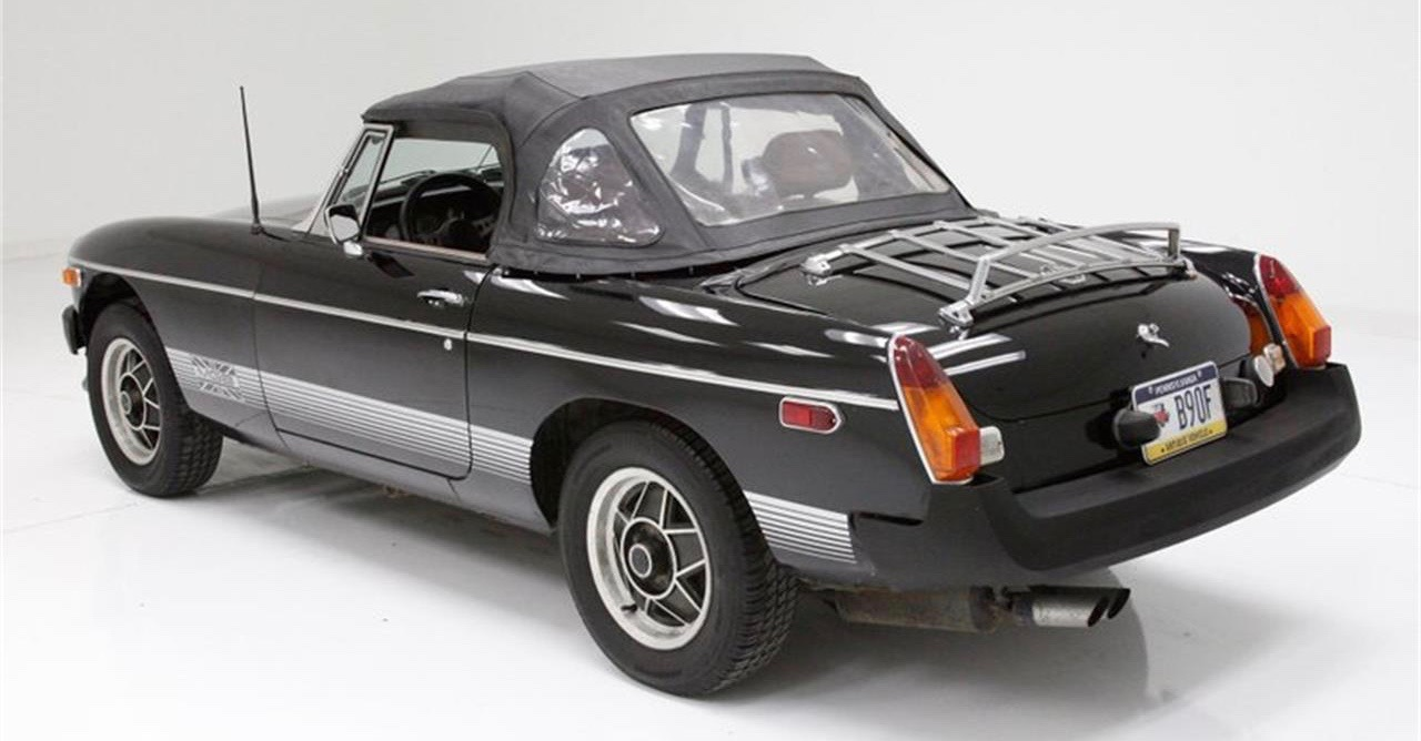1980 MGB, MGB production ended with Limited Edition flourish, ClassicCars.com Journal