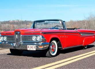 Luxo-cruiser 1959 Edsel Corsair convertible with low mileage