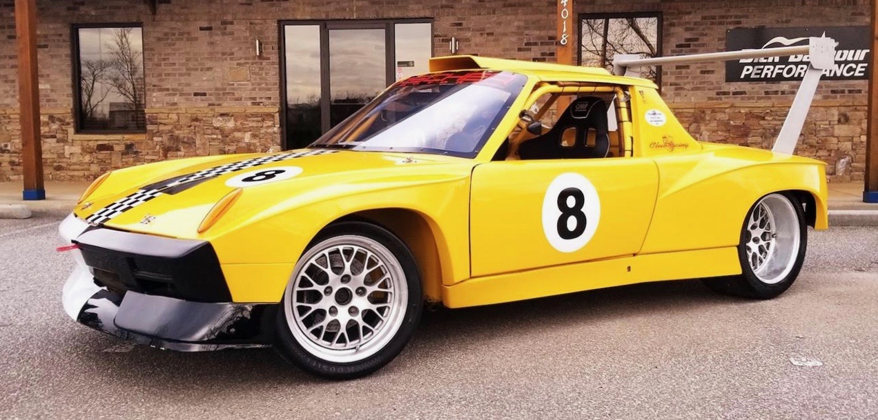 This 1974 Porsche 914 6 Was Built To Go Racing And Holds