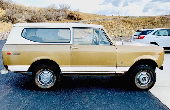 Heading to Harvester Homecoming? Here's a Scout II to take you there