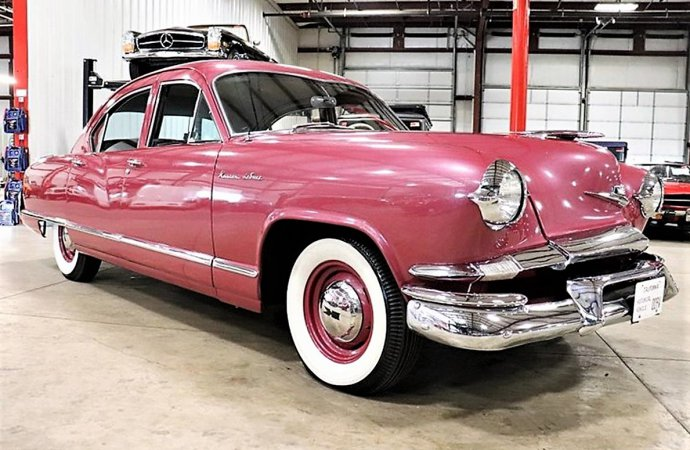 Rare orphan 1953 Kaiser Special with 'Bermuda Rose' luster