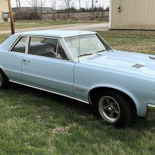 First-year '64 Pontiac GTO in restored, low-miles condition