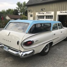 1961 Dodge Seneca wagon features dramatic design