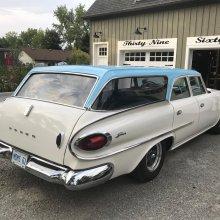 1961 Dodge Seneca wagon features dramatic design