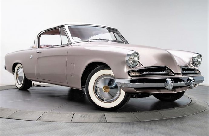 Cool custom '53 Studebaker coupe packs serious performance